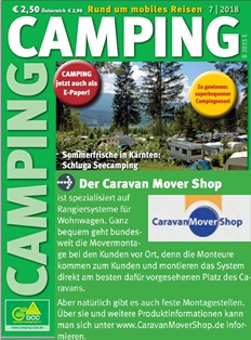DCC Deutsche Camping Club advertising
